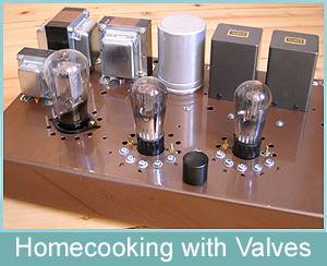 Home Cooking with Valves - Tube Preamps with Triodes DIY